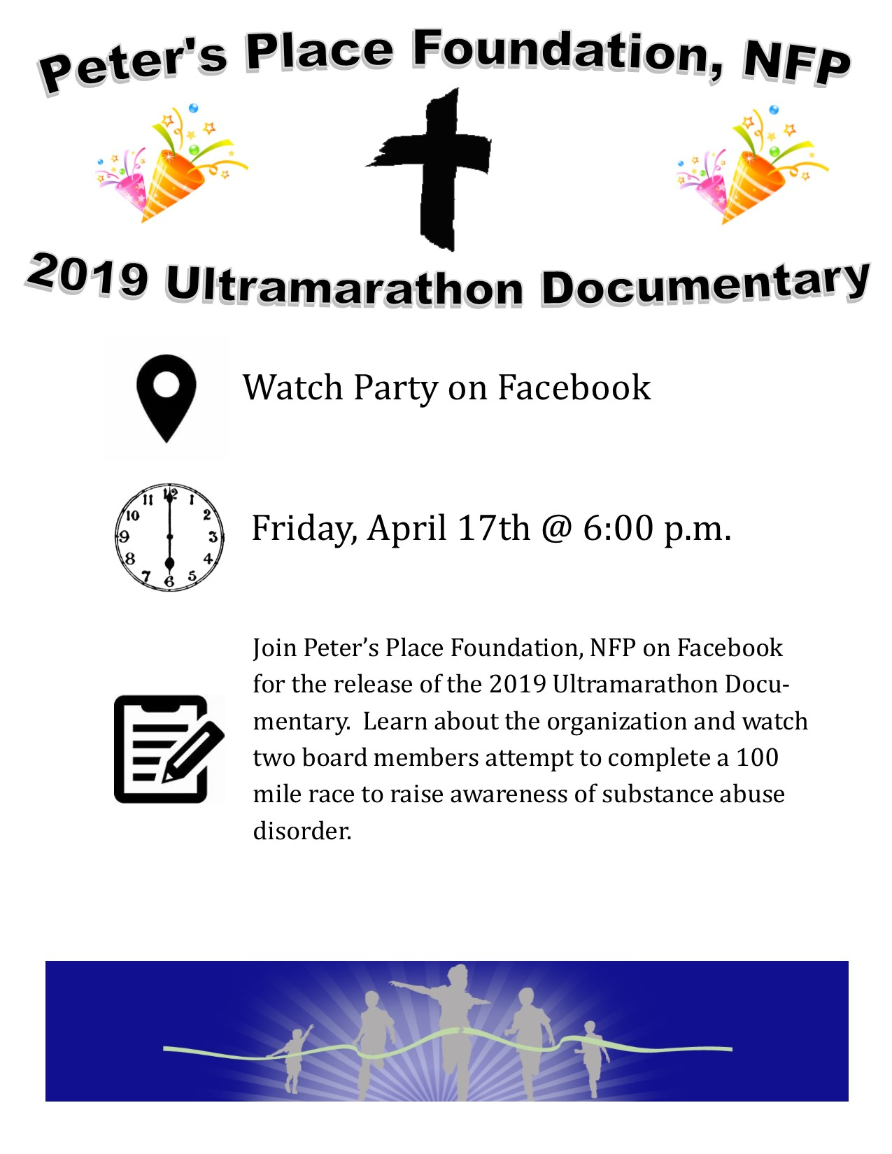 Ultramarathon Documentary for Peter's Place Foundation NFP